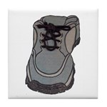 tennis shoe Tile Coaster