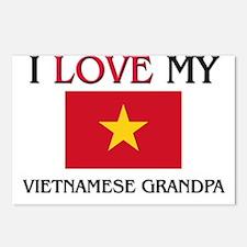 I Love My Vietnamese Grandpa Postcards (Package of