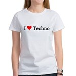 I Love Techno Women's T-Shirt