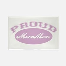 Proud Mom Mom Rectangle Magnet