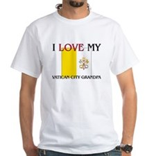 I Love My Vatican City Grandpa Shirt