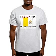 I Love My Vatican City Grandpa T-Shirt