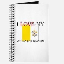 I Love My Vatican City Grandpa Journal