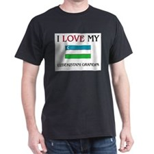 I Love My Uzbekistani Grandpa T-Shirt