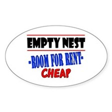 Empty Nest Oval Decal