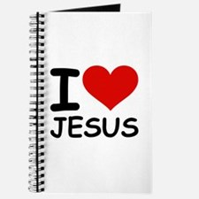 I LOVE JESUS Journal