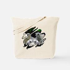 See Through Polar Bear Tote Bag