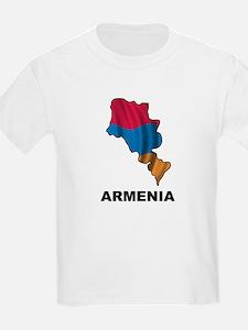 Map Of Armenia T-Shirt