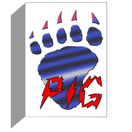 LEATHER PRIDE PAW/GRRR/PIG Greeting Cards (Pk of20