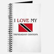I Love My Trinidadian Grandpa Journal
