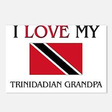 I Love My Trinidadian Grandpa Postcards (Package o