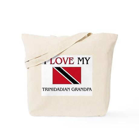 I Love My Trinidadian Grandpa Tote Bag