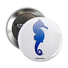 Seahorse (blue) Button