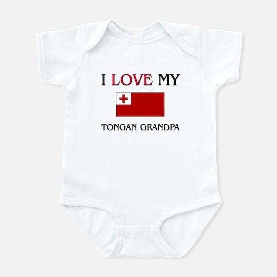 I Love My Tongan Grandpa Infant Bodysuit