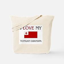 I Love My Tongan Grandpa Tote Bag