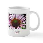 Pink Coneflower Mug
