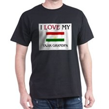 I Love My Tajik Grandpa T-Shirt