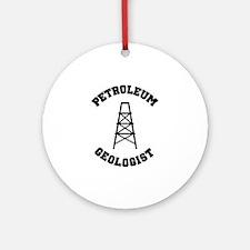 Petroleum Geologist Ornament (Round)