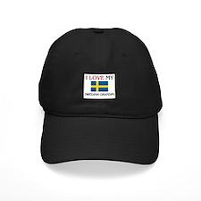 I Love My Swedish Grandpa Baseball Hat
