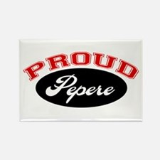Proud Pepere Rectangle Magnet