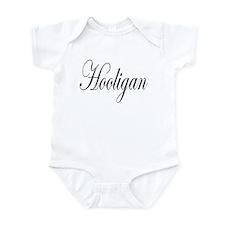 Hooligan black on light Infant Bodysuit