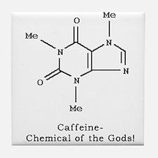 Caffeine Tile Coaster