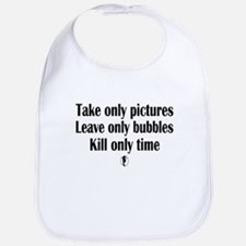 Take Only Pictures Bib