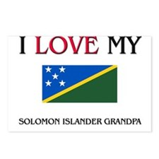 I Love My Solomon Islander Grandpa Postcards (Pack