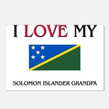 I Love My Solomon Islander Grandpa Postcards (Pack
