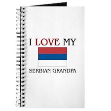 I Love My Serbian Grandpa Journal