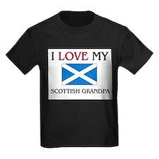 I Love My Scottish Grandpa T
