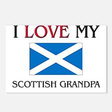 I Love My Scottish Grandpa Postcards (Package of 8