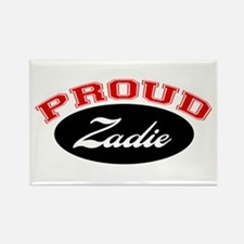 Proud Zadie Rectangle Magnet