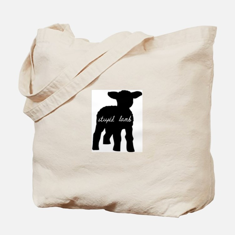 Stupid Lamb Tote Bag