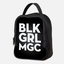 BLK GRL MGC Neoprene Lunch Bag