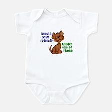 Need A Best Friend 2 Infant Bodysuit