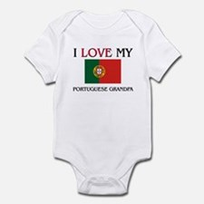 I Love My Portuguese Grandpa Infant Bodysuit