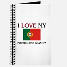 I Love My Portuguese Grandpa Journal