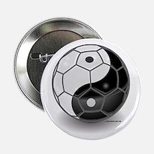 Ying Yang Soccer Ball Button