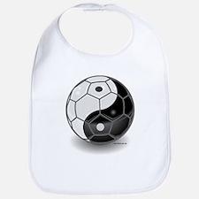 Ying Yang Soccer Ball Bib