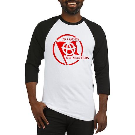 NO GODS - NO MASTERS Baseball Jersey