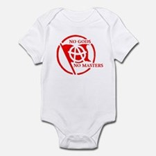 NO GODS - NO MASTERS Infant Bodysuit