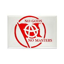 NO GODS - NO MASTERS Rectangle Magnet