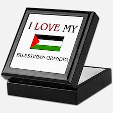 I Love My Palestinian Grandpa Keepsake Box