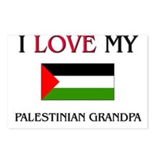 I Love My Palestinian Grandpa Postcards (Package o