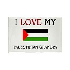 I Love My Palestinian Grandpa Rectangle Magnet