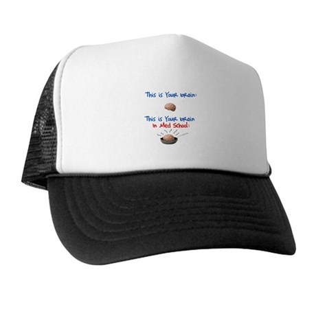 Brain in Med School Trucker Hat