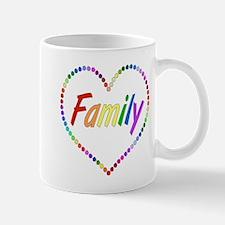 Rainbow Family Mug