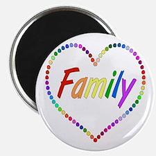 Rainbow Family Magnet