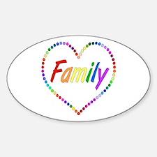 Rainbow Family Decal
